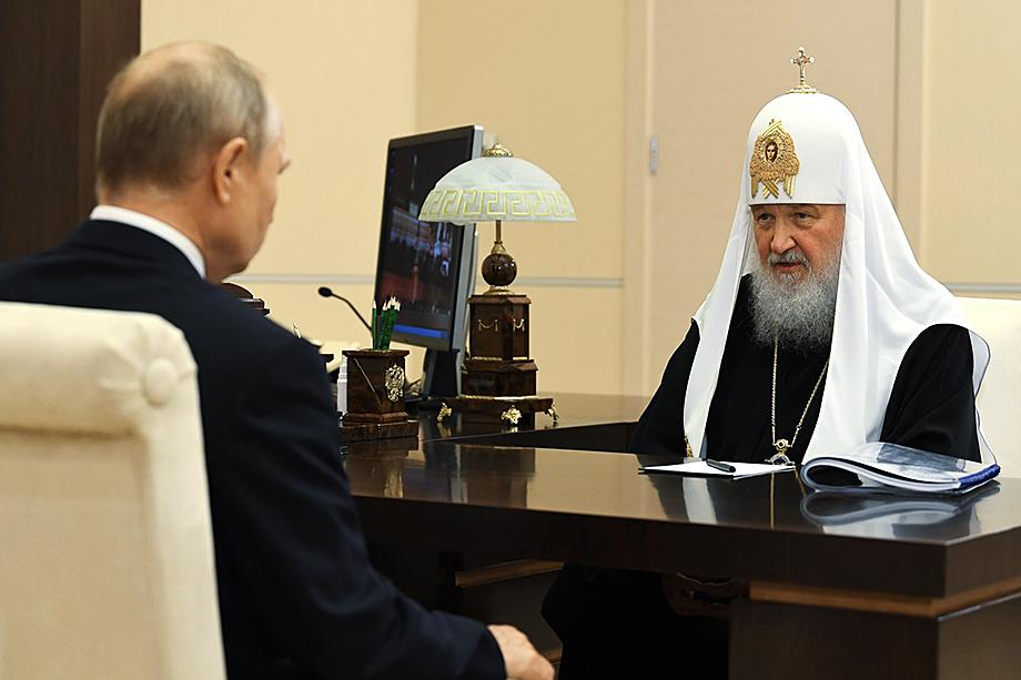 Лёд тронулся после встречи патриарха Кирилла и Владимира Путина.
