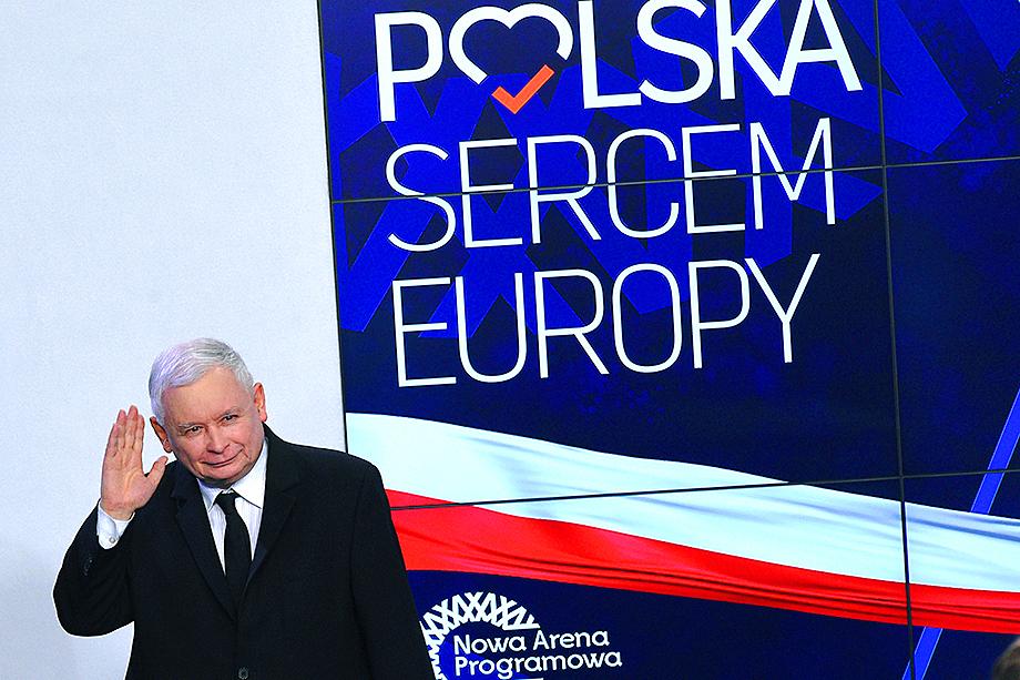 Польша балансирует на грани изгнания из ЕС в связи с антидемократичным поведением правящей партии Ярослава Качиньского (на фото).