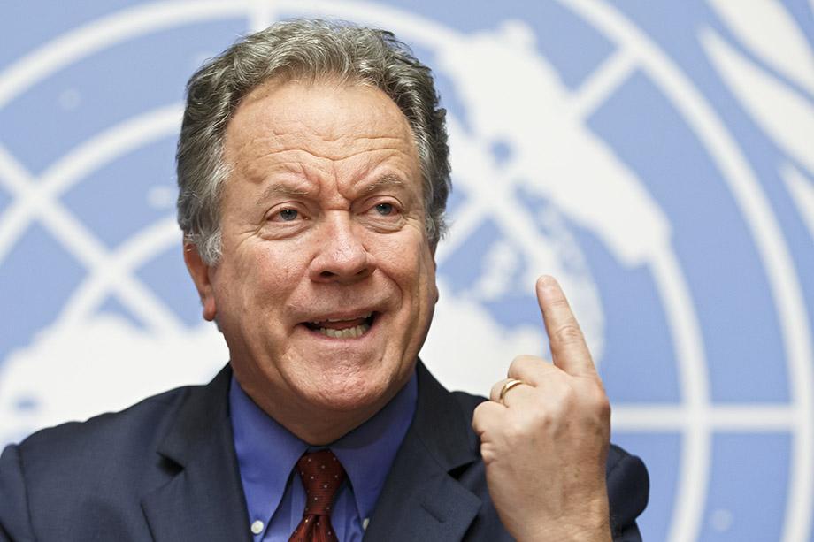Дэвид Бизли, директор Всемирной продовольственной программы ООН, неоднократно призывал мировые державы дать денег на помощь голодающим.