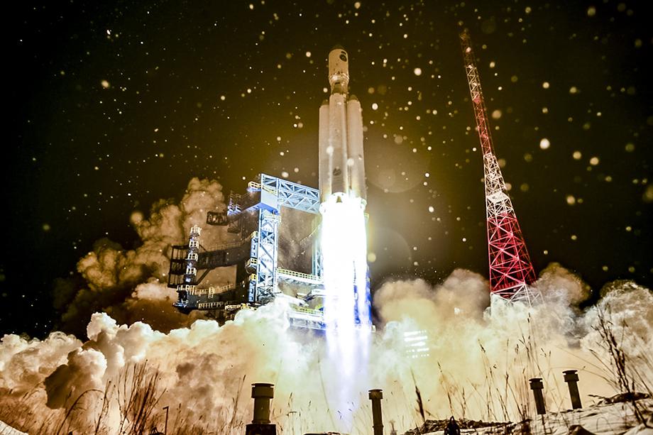Накануне с космодрома Плесецк в рамках лётно-конструкторских испытаний ракетного космического комплекса «Ангара» произведён пуск ракеты-носителя тяжёлого класса «Ангара-А5».