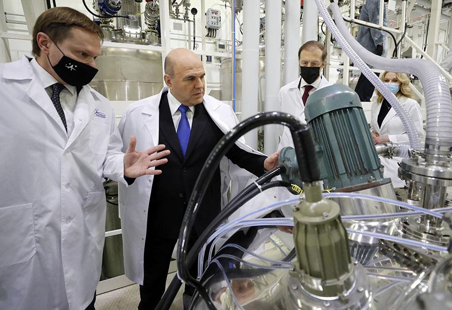 Во время своего визита глава кабмина примет участие в церемонии запуска первой очереди нового завода компании «Активный компонент».