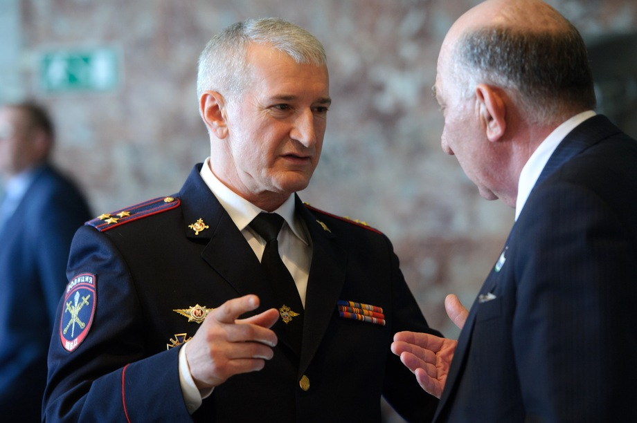 Глава ММУ МВД России «Нижнетагильское» Ибрагим Абдулкадыров.
