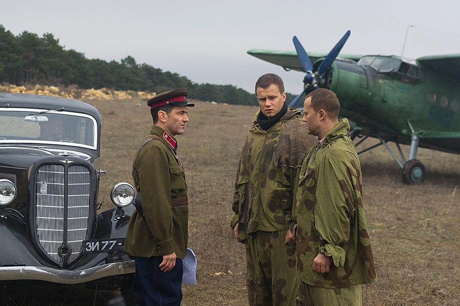 Кадр из сериала «Диверсант. Крым».