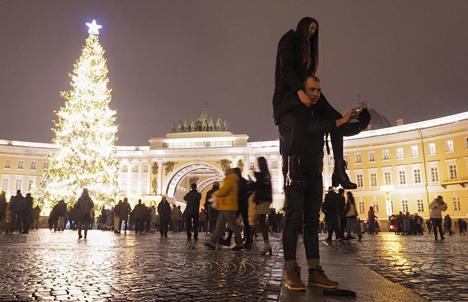 Санкт-Петербург, Дворцовая площадь.