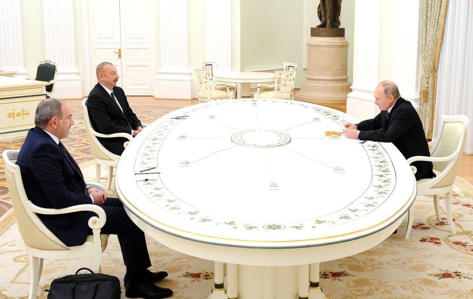 Владимир Путин заявил, что договорённости по Карабаху последовательно реализуются.