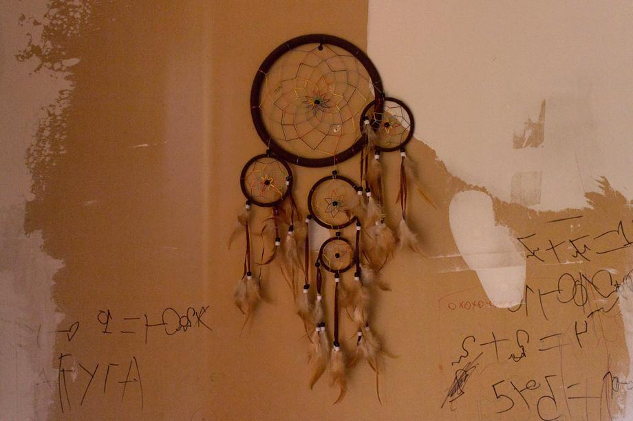 Ловец снов на стене нового «Теремка».
