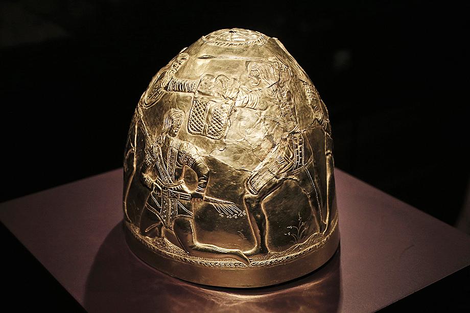 Экспонат из коллекции скифского золота, хранящейся в Амстердаме в музее Алларда Пирсона.