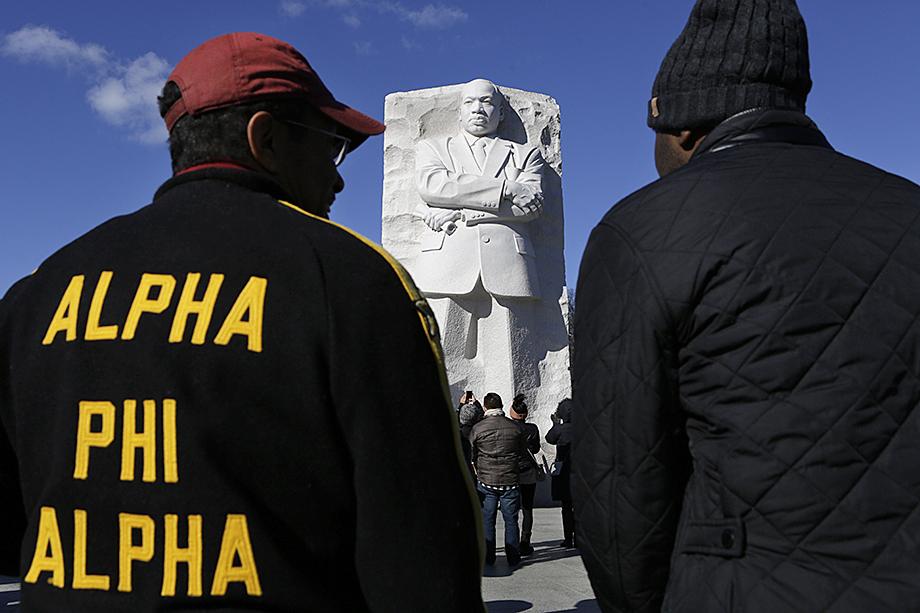 Мартин Лютер Кинг был членом студенческого братства «Альфа Фи Альфа».