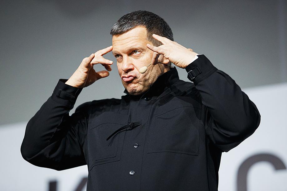 «Любимец» оппозиционеров Владимир Соловьёв был заблокирован из-за жалоб и в Clubhouse.