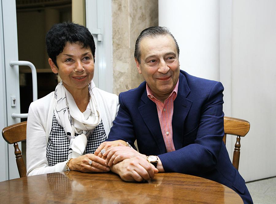 Злата Эльбаум и Геннадий Хазанов связаны не только крепкими семейными отношениями, но и общими бизнес-проектами.