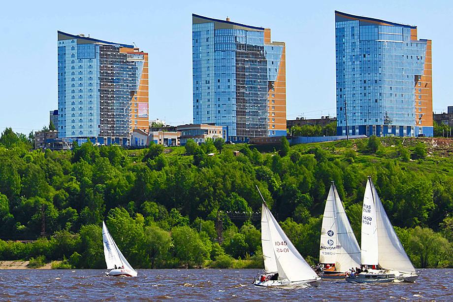 Квартира Поздеева площадью 688 квадратных метров расположена в ЖК «Паруса над Камой».
