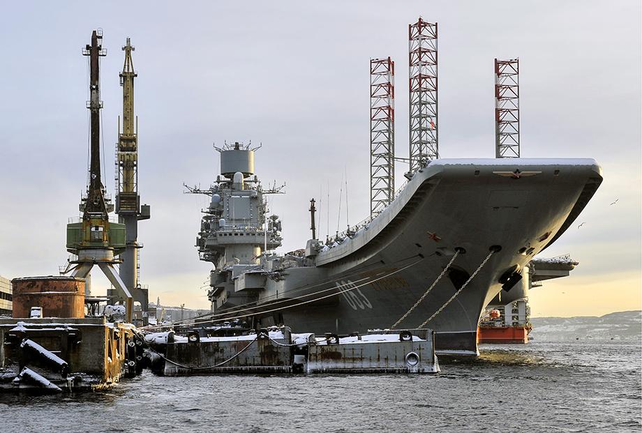 В 2019 году во время ремонтных работ на «Адмирале Кузнецове» произошёл пожар. В результате два человека погибли, пострадали более 10 человек.