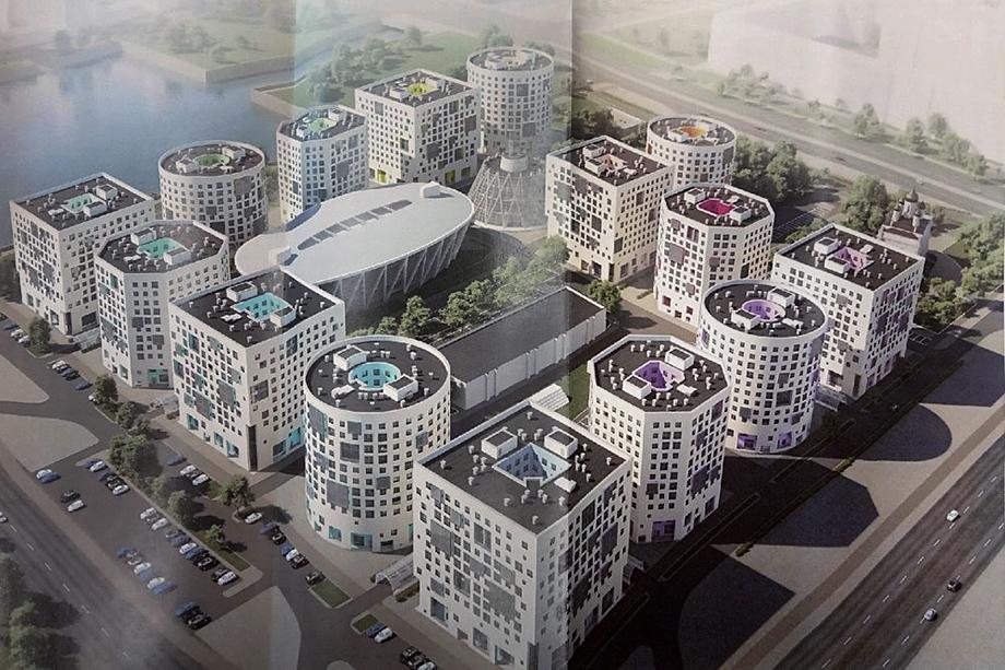 Проект кампуса СПбГУ.