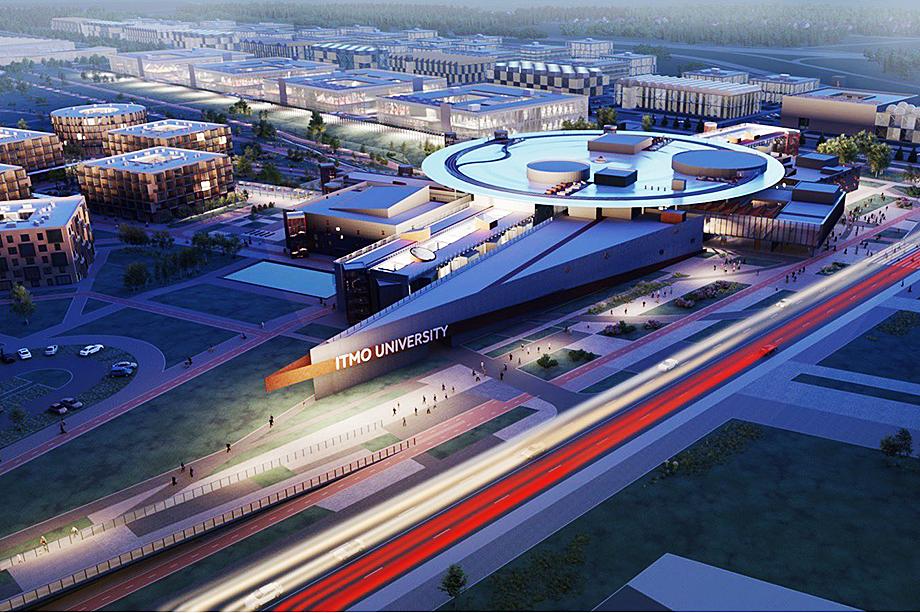 Проект кампуса ИТМО.