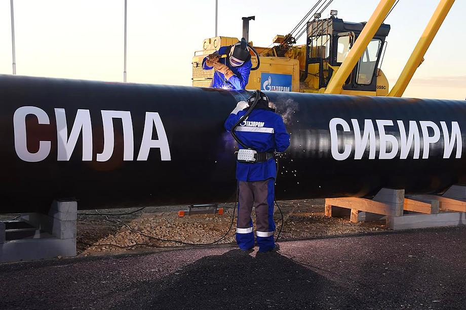 Большой удачей для обеспечения энергоснабжения производственных мощностей стал газопровод «Сила Сибири».