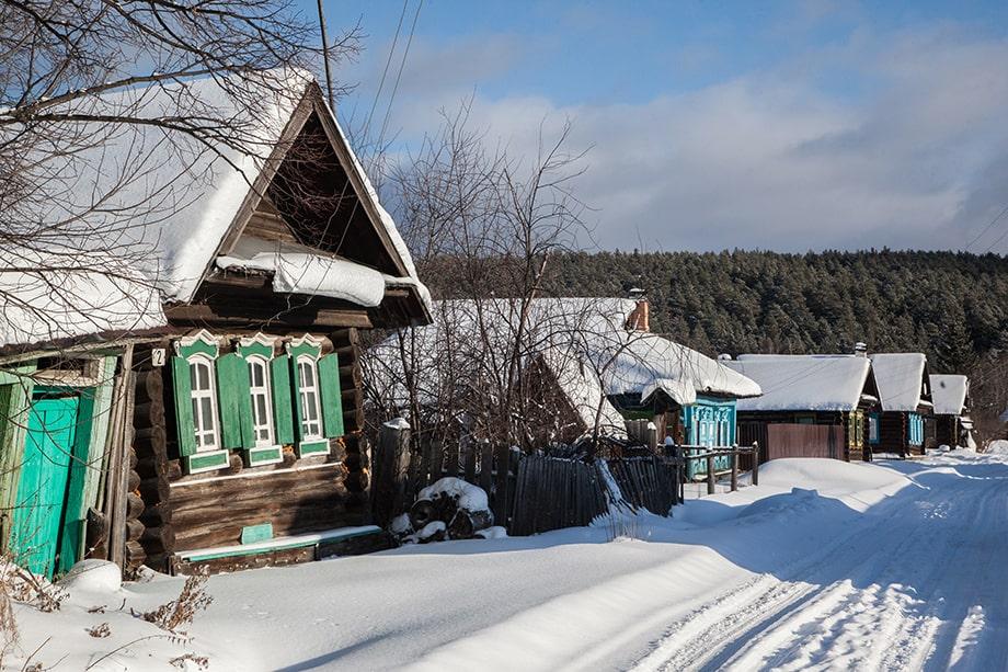 Деревня Сербишино.