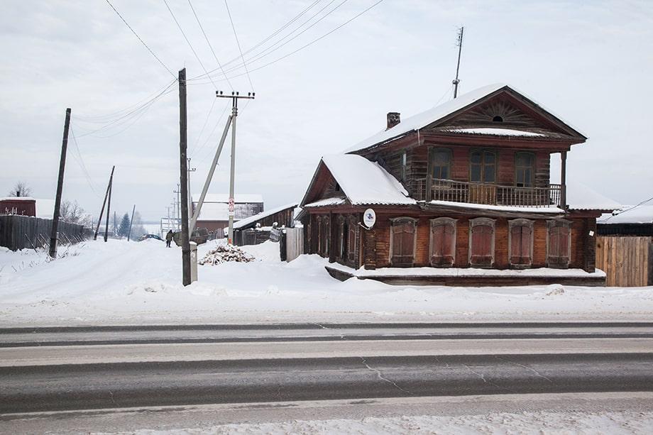 Дом в Быньгах.