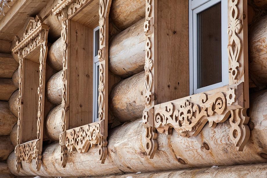 Дом – гончарная мастерская в Нижних Таволгах.