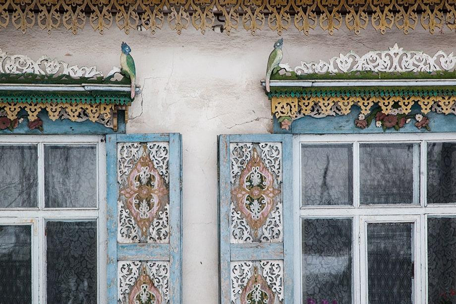 «Дом с райскими птицами», Невьянск.