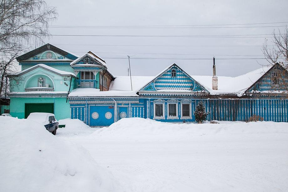 Дом «Девочка со свёклой», Невьянск.
