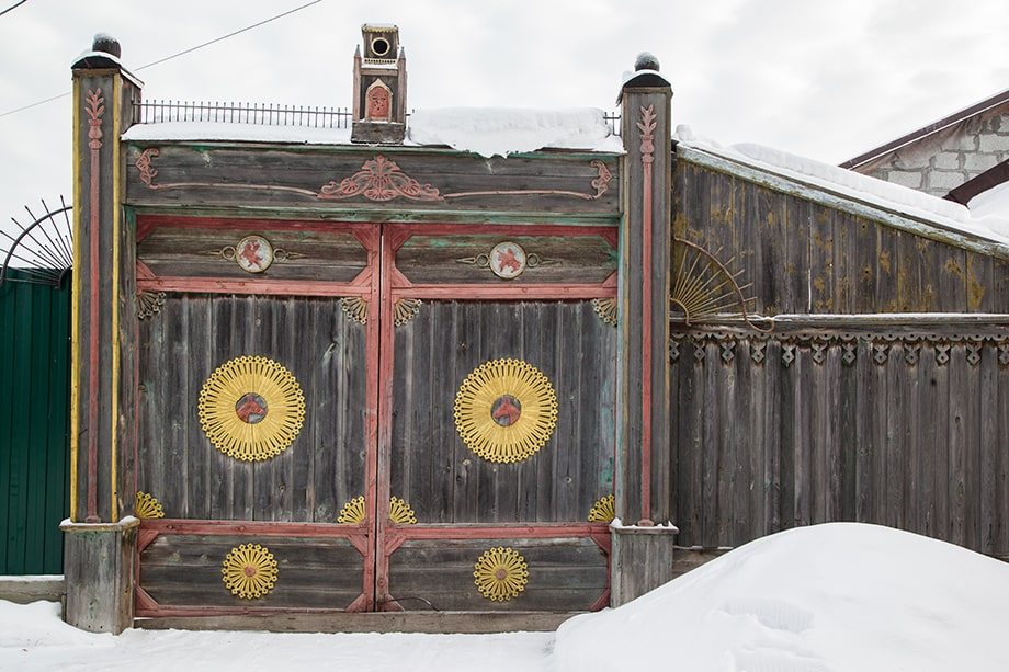 Дом в Невьянске.