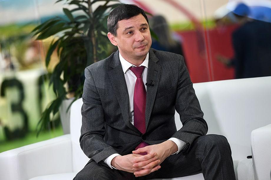 Мэр Краснодара Евгений Первышов.