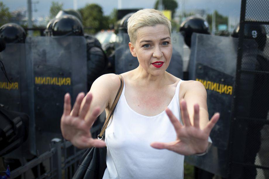 С деятельностью «Фонда Аденауэра» в Белоруссии связывают появление в политике и Марии Колесниковой.