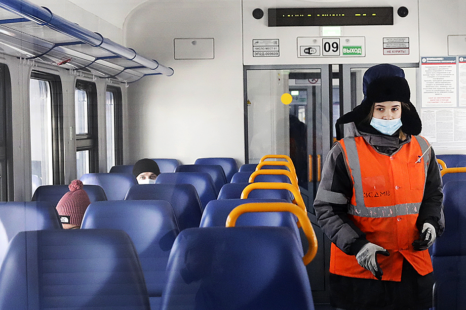 В 2020 году перевозки в пригородном сообщении сократились более, чем на четверть.