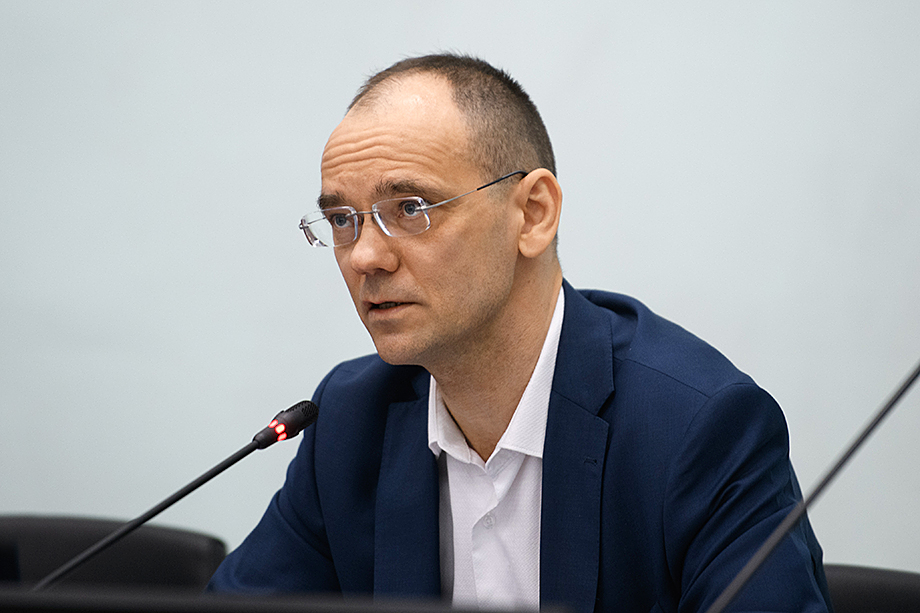 Дмитрий Глушко, первый заместитель министра просвещения РФ.