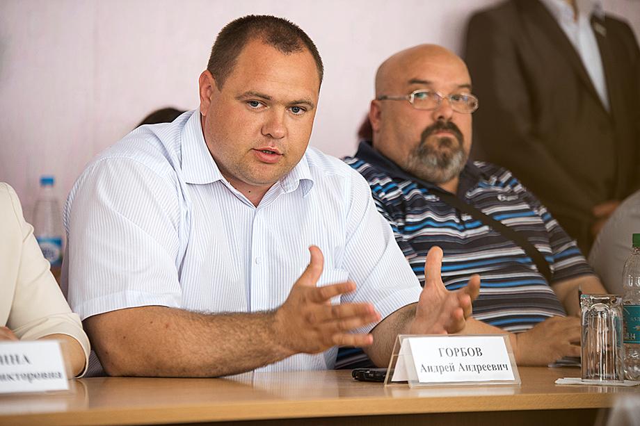 Андрей Горбов, глава Белоярского городского округа.