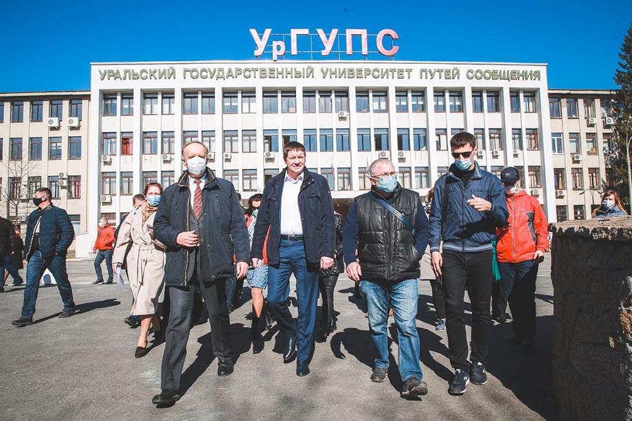 Ректор УргУПС Александр Галкин пообещал, что свободный вход на территорию парка останется.