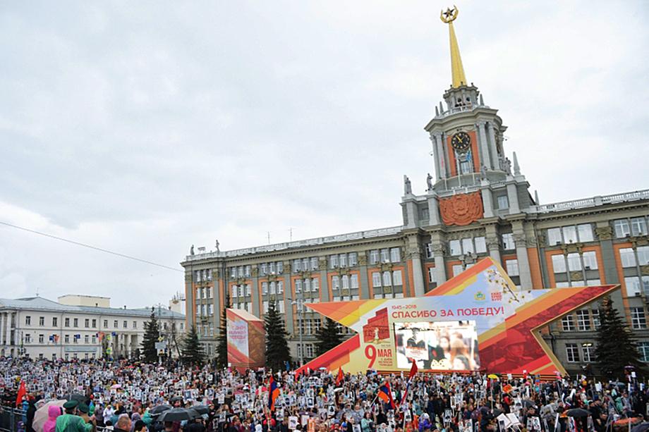 В 2018 году шествие собрало максимальное количество участников.