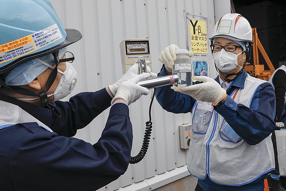 В зоне отчуждения вокруг «Фукусимы» регулярно проверяли уровень активности опасных веществ.