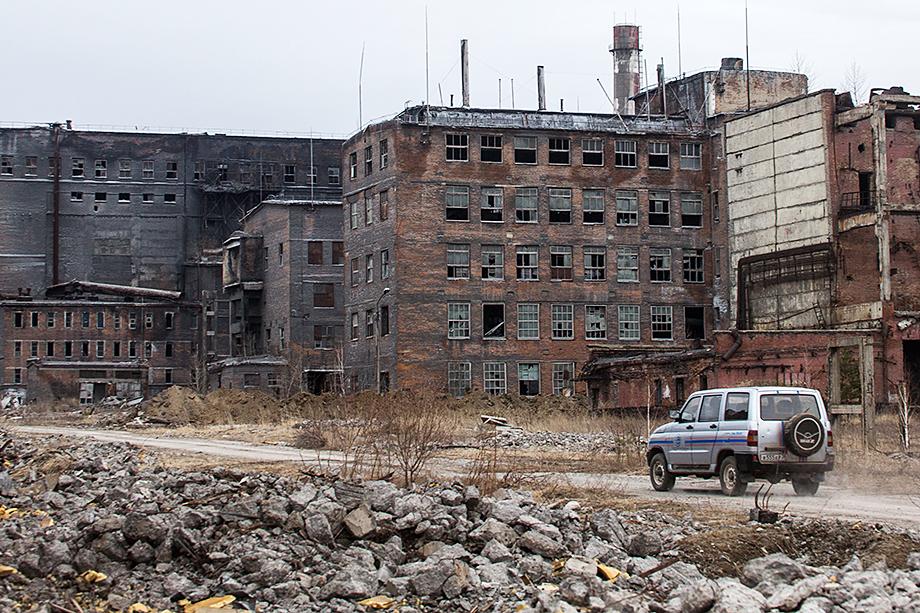 Территория бывшего химического предприятия «Усольехимпром».