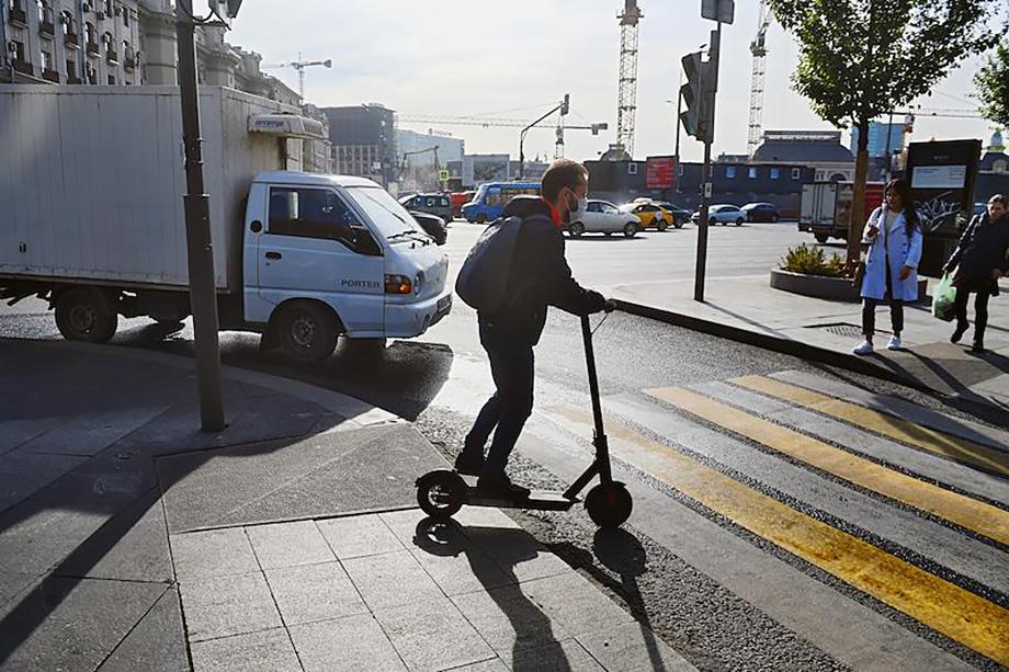 В Башкирии планируют ввести правовое регулирование езде на электросамокате