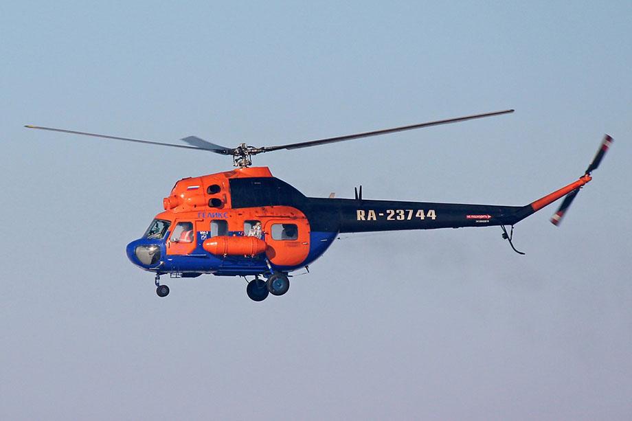 Вертолёт Ми-2 не вышел на связь в условленное время.