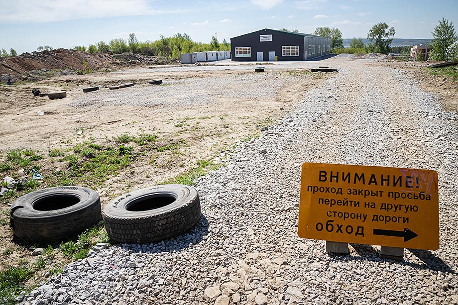 Территория, предоставленная Мухтасибату под Соборную мечеть, по мнению департамента информполитики губернатора.