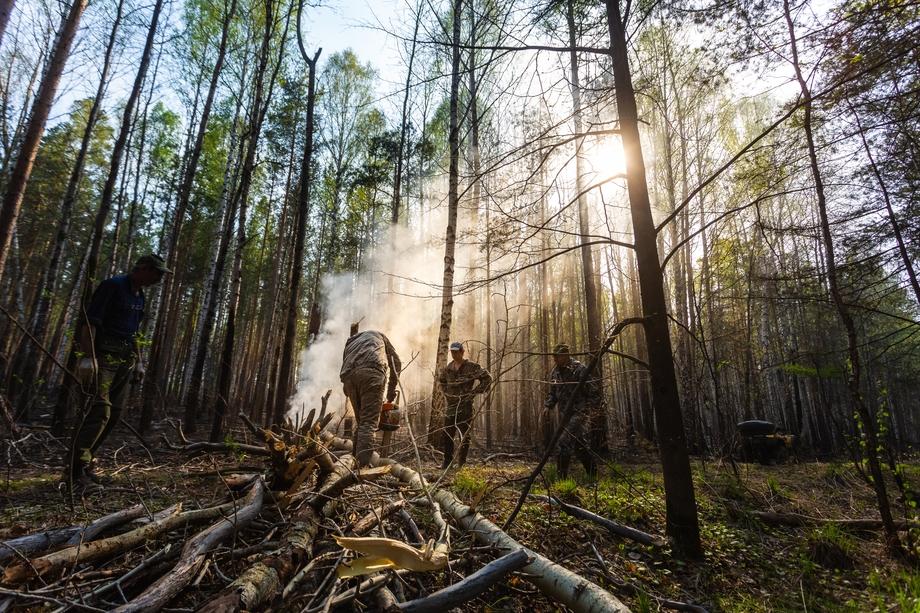 Среди обязанностей в вакансиях – тушение природных пожаров, охрана лесов от пожаров и обеспечение пожарной безопасности, оказание помощи пострадавшим и защита населённых пунктов