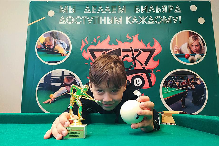 Никита Демченко – один из самых юных участников соревнований.