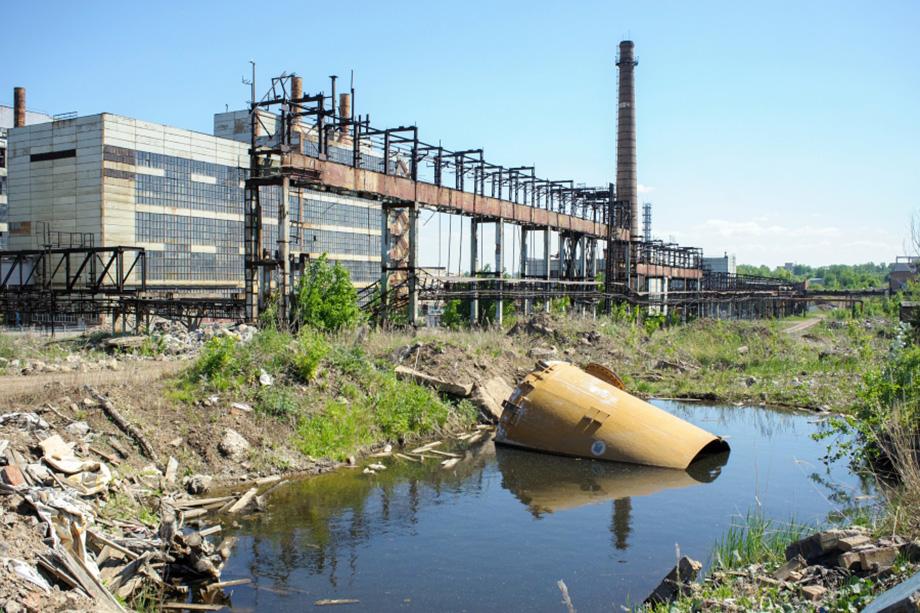 Территорию завода «Химпром» в Уфе будут рекультивировать.
