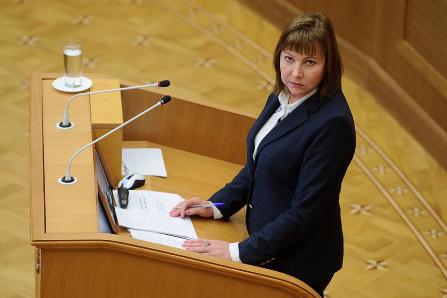 Галина Кулаченко возглавляла министерство финансов Свердловской области в период с 2012 по 2020 год.