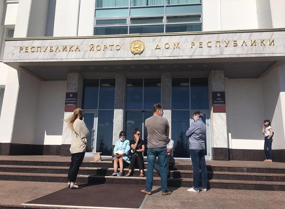 В Уфе жильцы домов на улице Конституции просят встречи с главой Башкирии.