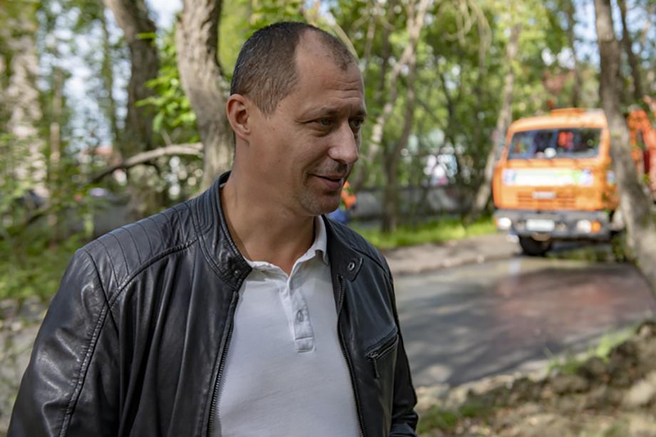 Станислав Ланин, бывший замглавы управления дорожного хозяйства Мурманской области.