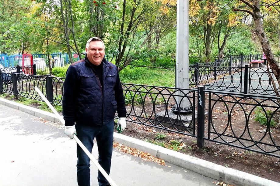 Виктор Хабаров, депутат городского совета Мурманска.