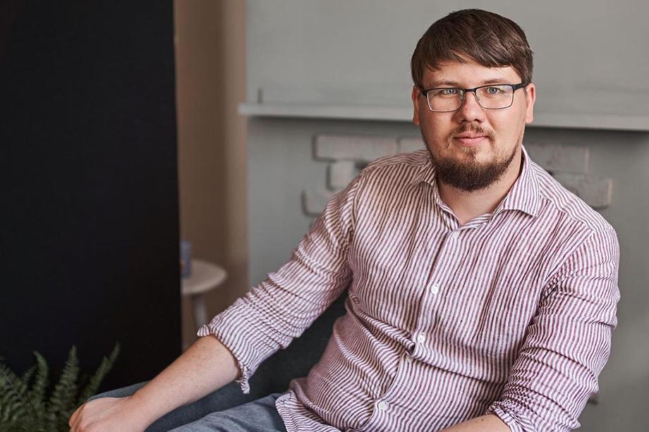 Новый директор парка Маяковского в Екатеринбурге Павел Зубакин.