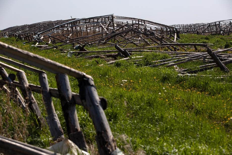 Китайские теплицы «украшают» пейзажи сразу нескольких районов Челябинской области.