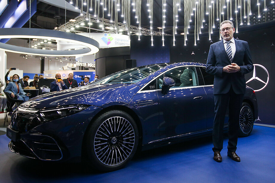 Хольгер Зуффель, глава официального представительства Mercedes-Benz в России: «Это лучшая площадка, чтобы рассказать о бизнесе и новых продуктах на российском рынке».