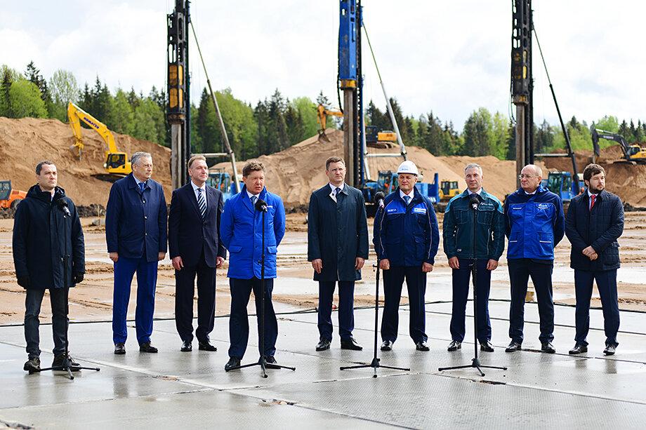 Выступление Алексея Миллера на церемонии начала строительства нового завода в Усть-Луге. 21 мая 2021 года.