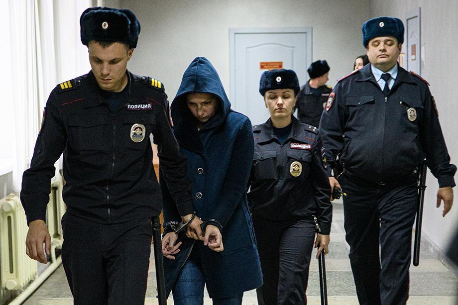 Екатерина Меньшикова (на фото) получила наименьший срок.