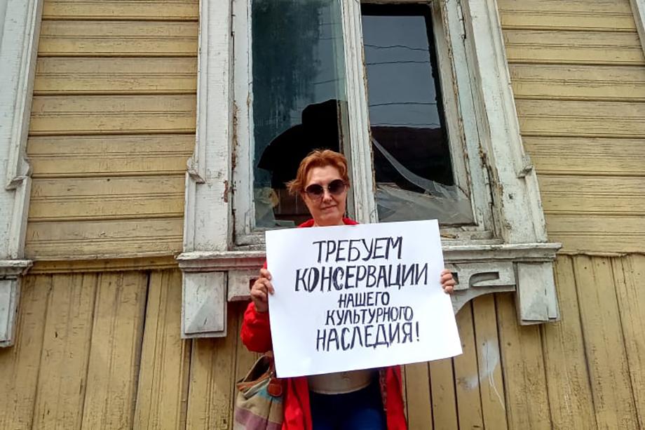 Общественники просят мэрию Уфы обратить внимание на проблемы объектов культурного наследия.